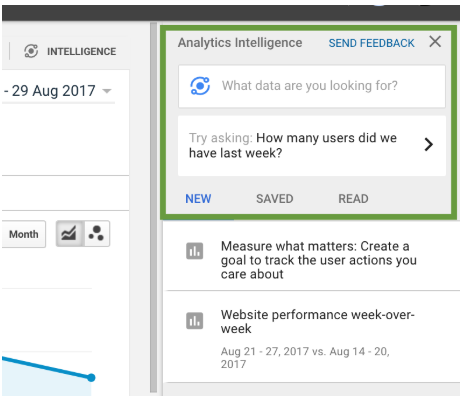 Taking Google Analytics Intelligence for a quick spin 2
